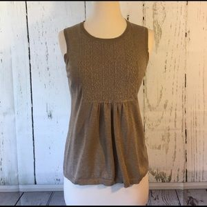 Liz Claiborne Silk Blend Sweater Tank Top